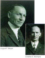 In 1918, McIntyre became Meyer's partner and vice president.