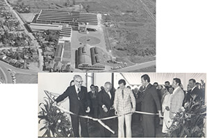 In 1974, to better serve the expanding international market, Monroe purchases Unamuno, S.A., a leader in the Spanish shock absorber market, and MAP Auto Pecas S.A. in Brazil.