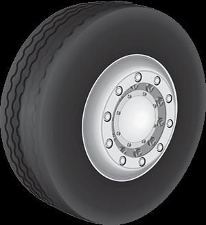 Tire Camber (Outward or Inward Tilt of the Tire)